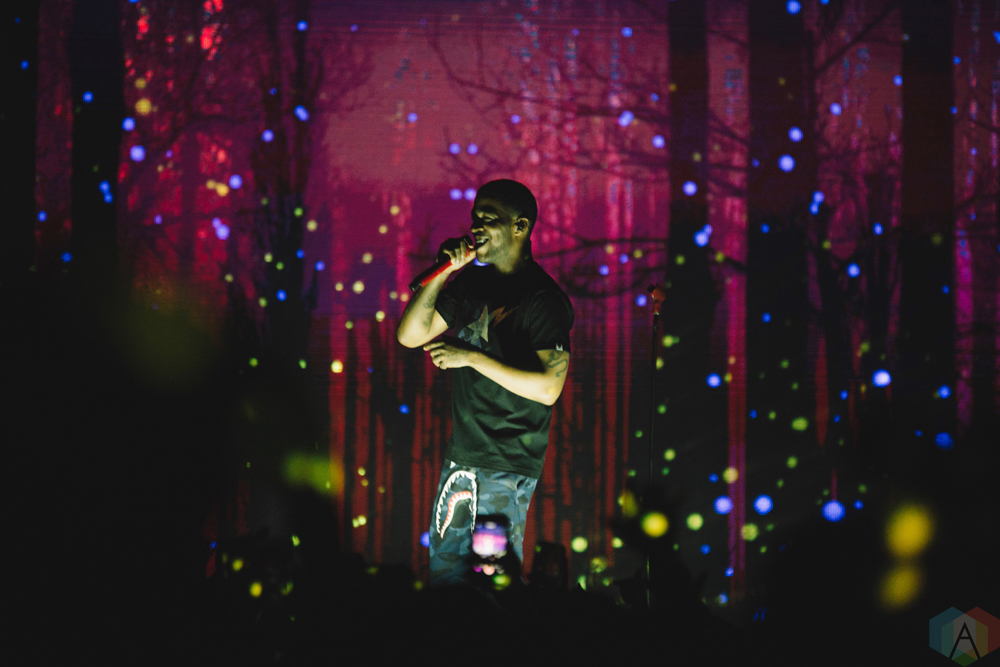 Kid Cudi performs at Rebel in Toronto on October 4, 2017 ...