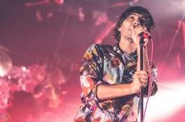DETROIT, MICHIGAN - OCTOBER 11: Phoenix performs at The Fillmore in Detroit, Michigan on October 11, 2017. (Photo: Taylor Ohryn/Aesthetic Magazine)