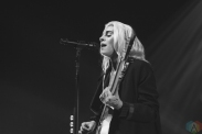 CHICAGO, IL - OCTOBER 22: PVRIS performs at Riviera Theatre in Chicago on October 22, 2017. (Photo: Kris Cortes/Aesthetic Magazine)