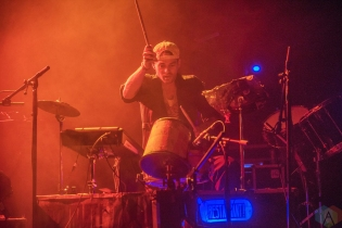 MANCHESTER, UK - OCTOBER 27: Restavrant performs at Manchester Academy in Manchester, UK on October 27, 2017. (Photo: Sabrina Ramdoyal/Aesthetic Magazine)