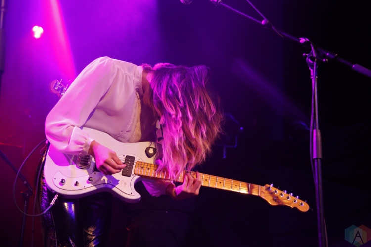 Tangerine performs at Roseland Theater in Portland on October 3, 2017. (Photo: Krystyn Bristol/Aesthetic Magazine)