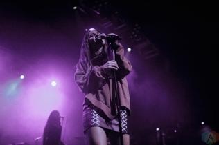 BIRMINGHAM, UK - OCTOBER 25: Taya performs at O2 Academy Birmingham in Birmingham, UK on October 25, 2017. (Photo: Caitlin Molton/Aesthetic Magazine)
