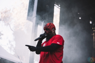 SACRAMENTO, CA - OCTOBER 21: Tech N9NE performs at Aftershock Festival in Sacramento, CA on October 21, 2017. (Photo: Kyle Simmons/Aesthetic Magazine)