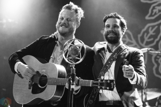 The Lone Bellow performs at Opera House in Toronto on October 2, 2017. (Photo: Morgan Hotston/Aesthetic Magazine)