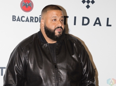 NEW YORK, NY - OCTOBER 17: DJ Khaled attends the TIDAL X: Brooklyn red carpet at Barclays Center in Brooklyn, New York on October 17, 2017. (Photo: Stephan Ordonez/Aesthetic Magazine)