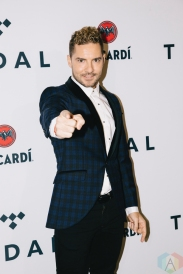 NEW YORK, NY - OCTOBER 17: David Bisbal attends the TIDAL X: Brooklyn red carpet at Barclays Center in Brooklyn, New York on October 17, 2017. (Photo: Stephan Ordonez/Aesthetic Magazine)
