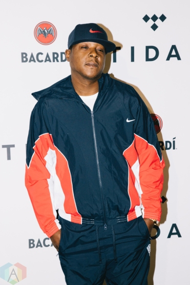 NEW YORK, NY - OCTOBER 17: Jadakiss attends the TIDAL X: Brooklyn red carpet at Barclays Center in Brooklyn, New York on October 17, 2017. (Photo: Stephan Ordonez/Aesthetic Magazine)