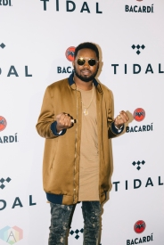 NEW YORK, NY - OCTOBER 17: Kranium attends the TIDAL X: Brooklyn red carpet at Barclays Center in Brooklyn, New York on October 17, 2017. (Photo: Stephan Ordonez/Aesthetic Magazine)
