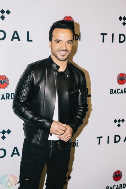 NEW YORK, NY - OCTOBER 17: Luis Fonzi attends the TIDAL X: Brooklyn red carpet at Barclays Center in Brooklyn, New York on October 17, 2017. (Photo: Stephan Ordonez/Aesthetic Magazine)