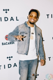 NEW YORK, NY - OCTOBER 17: Mack Wilds attends the TIDAL X: Brooklyn red carpet at Barclays Center in Brooklyn, New York on October 17, 2017. (Photo: Stephan Ordonez/Aesthetic Magazine)