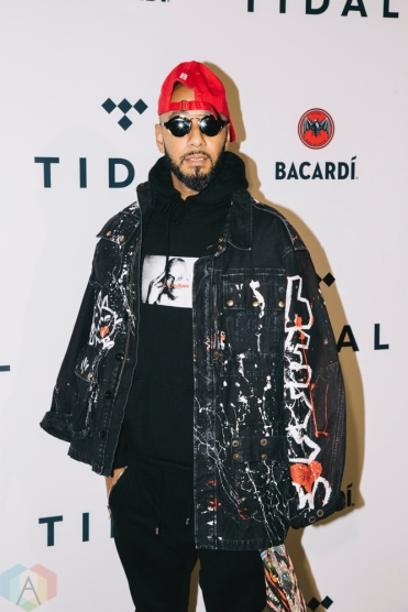 NEW YORK, NY - OCTOBER 17: Swizz Beatz attends the TIDAL X: Brooklyn red carpet at Barclays Center in Brooklyn, New York on October 17, 2017. (Photo: Stephan Ordonez/Aesthetic Magazine)