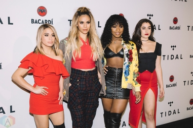 NEW YORK, NY - OCTOBER 17: Fifth Harmony attends the TIDAL X: Brooklyn red carpet at Barclays Center in Brooklyn, New York on October 17, 2017. (Photo: Stephan Ordonez/Aesthetic Magazine)