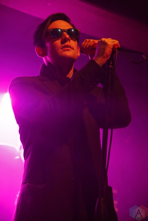 William Control performs at Wonder Ballroom in Portland on October 4, 2017. (Photo: Krystyn Bristol/Aesthetic Magazine)