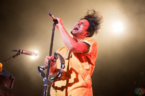 Young The Giant performs at FivePoint Amphitheatre in Irvine, California on October 5, 2017. (Photo: Alejandra Gomez/Aesthetic Magazine)