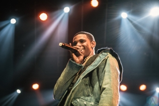 TORONTO, ON - NOVEMBER 28: A Boogie Wit Da Hoodie performs at Rebel in Toronto on November 28, 2017. (Photo: Harrison Haines/Aesthetic Magazine)