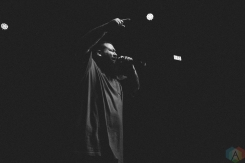 TORONTO, ON - NOVEMBER 19: Action Bronson performs at Rebel in Toronto on November 19, 2017. (Photo: Stephan Ordonez/Aesthetic Magazine)
