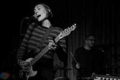 TORONTO, ON - NOVEMBER 8: Anna Burch performs at Drake Hotel in Toronto on November 8, 2017. (Photo: Theo Rallis/Aesthetic Magazine)