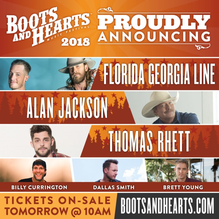 Boots And Hearts 2018
