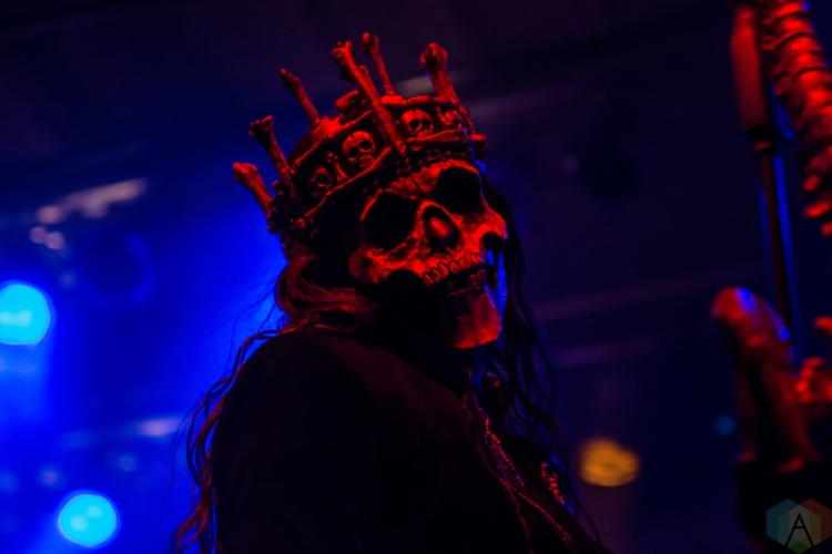 TORONTO, ON - NOVEMBER 28: Carach Angren performs at Phoenix Concert Theatre in Toronto on November 28, 2017. (Photo: Tyler Roberts/Aesthetic Magazine)
