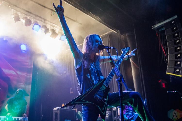 TORONTO, ON - NOVEMBER 28: Children of Bodom performs at Phoenix Concert Theatre in Toronto on November 28, 2017. (Photo: Tyler Roberts/Aesthetic Magazine)