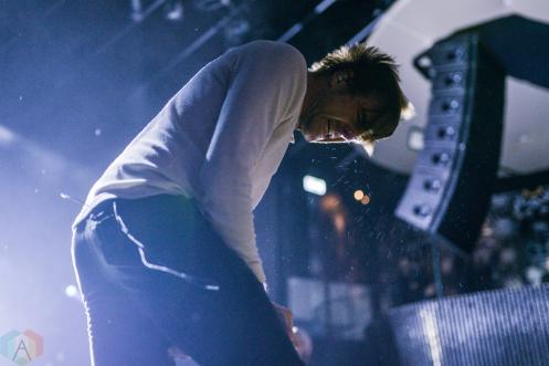 TORONTO, ON - NOVEMBER 29: Circa Survive performs at Rebel in Toronto on November 29, 2017. (Photo: Joanna Glezakos/Aesthetic Magazine)