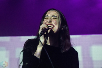 NASHVILLE, TN - NOVEMBER 16: Cults performs at Exit/In in Nashville on November 16, 2017. (Photo: Cody Osen/Aesthetic Magazine)