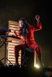 TORONTO, ON - NOVEMBER 7: Ibeyi performs at Phoenix Concert Theatre in Toronto on November 8, 2017. (Photo: Jaime Espinoza/Aesthetic Magazine)