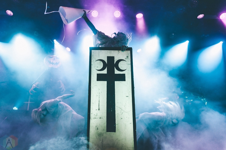 VANCOUVER, BC - NOVEMBER 2: In This Moment performs at Commodore Ballroom in Vancouver on November 2, 2017. (Photo: Tim Nguyen/Aesthetic Magazine)