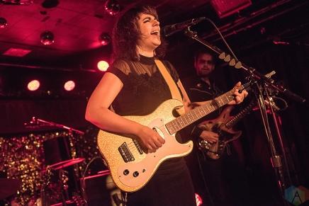 TORONTO, ON - NOVEMBER 16: Lisa LeBlanc performs at Horseshoe Tavern in Toronto on November 16, 2017. (Photo: Morgan Harris/Aesthetic Magazine)
