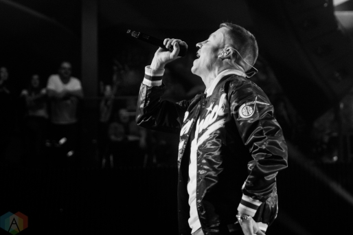 TORONTO, ON - NOVEMBER 8: Macklemore performs at Rebel in Toronto on November 8, 2017. (Photo: Brandon Newfield/Aesthetic Magazine)