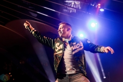 TORONTO, ON - NOVEMBER 8: Macklemore performs at Rebel in Toronto on November 8, 2017. (Photo: Brandon Newfield/Aesthetic Magazine)