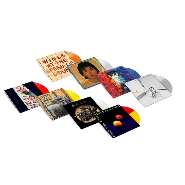 Paul McCartney - Coloured vinyl bundle