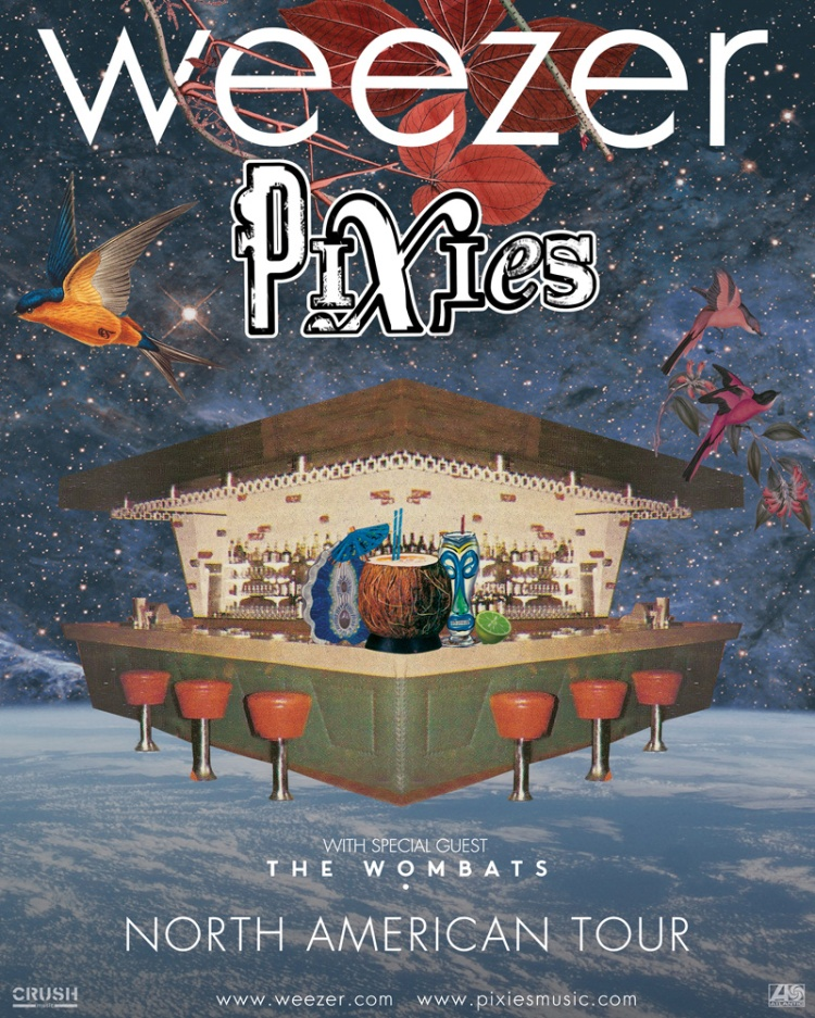 Pixes & Weezer Summer 2018 Tour