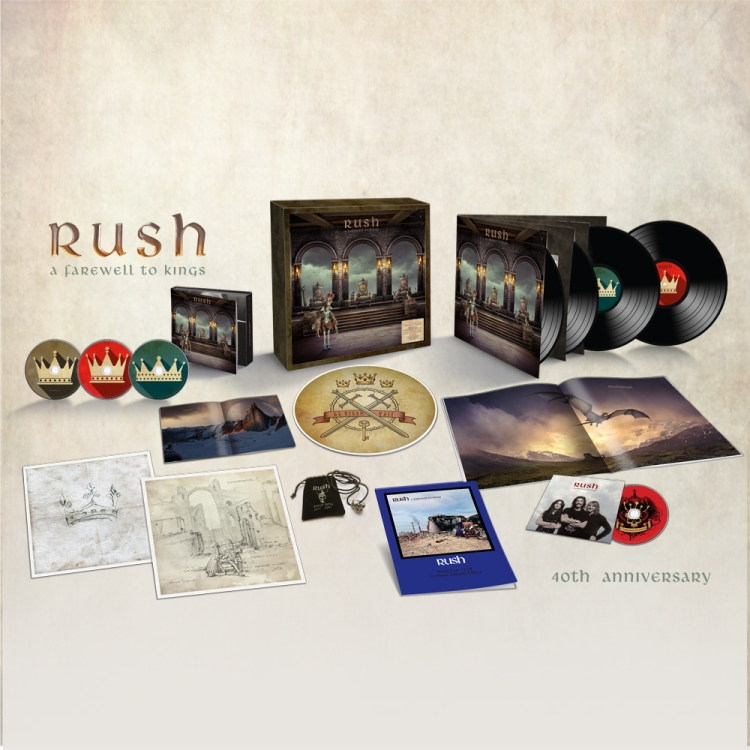 Rush - A Farewell to Kings(Super Deluxe Edition)