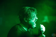 PORTLAND, OR - NOVEMBER 11: Suicide Silence performs at Analog Theater in Portland on November 11, 2017. (Photo: Krystyn Bristol/Aesthetic Magazine)