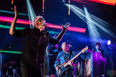 SEATTLE, WA - NOVEMBER 28: The National performs at Paramount Theatre in Seattle on November 28, 2017. (Photo: Kevin Tosh/Aesthetic Magazine)