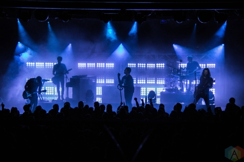 VANCOUVER, BC - NOVEMBER 9: Third Eye Blind performs at Commodore Ballroom in Vancouver on November 9, 2017. (Photo: Emily Chin/Aesthetic Magazine)