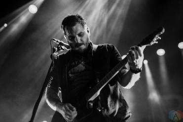 TORONTO, ON - NOVEMBER 29: Thrice performs at Rebel in Toronto on November 29, 2017. (Photo: Joanna Glezakos/Aesthetic Magazine)