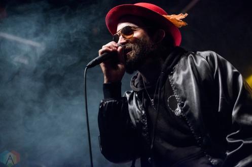 TORONTO, ON - NOVEMBER 22: Yelawolf performs at Phoenix Concert Theatre in Toronto on November 22, 2017. (Photo: Joanna Glezakos/Aesthetic Magazine)