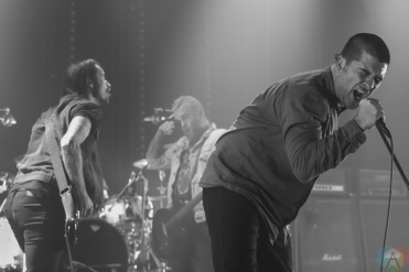 TORONTO, ON - DECEMBER 11: Alexisonfire performs at Danforth Music Hall in Toronto on December 11, 2017. (Photo: Tyler Roberts/Aesthetic Magazine)