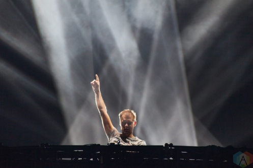 VANCOUVER, BC – Armin Van Buuren performs at BC Place in Vancouver during Contact Winter Music Festival on December 27, 2017. (Photo: Ryan Deasley/Aesthetic Magazine)