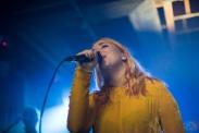 TORONTO, ON - DECEMBER 14: Austra performs at Velvet Underground in Toronto on December 14, 2017. (Photo: Jaime Espinoza/Aesthetic Magazine)