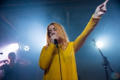 TORONTO, ON - DECEMBER 14: Austra performs at Velvet Underground in Toronto on December 14, 2017. (Photo: Jaime Espinoza/Aesthetic Magazine)