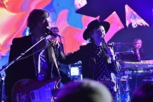 NEW YORK, NY - DECEMBER 09: Beck performs for fans and Hilton Honors members as part of Music Happens Here at Spring Studios in New York City on December 9, 2017. (Photo: Theo Wargo/Getty)