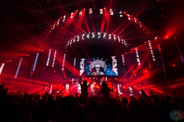VANCOUVER, BC – Carnage performs at BC Place in Vancouver during Contact Winter Music Festival on December 27, 2017. (Photo: Ryan Deasley/Aesthetic Magazine)