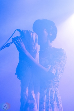 TORONTO, ON - NOVEMBER 30: Cold Specks performs at Mod Club in Toronto on November 30, 2017. (Photo: Morgan Hotston/Aesthetic Magazine)