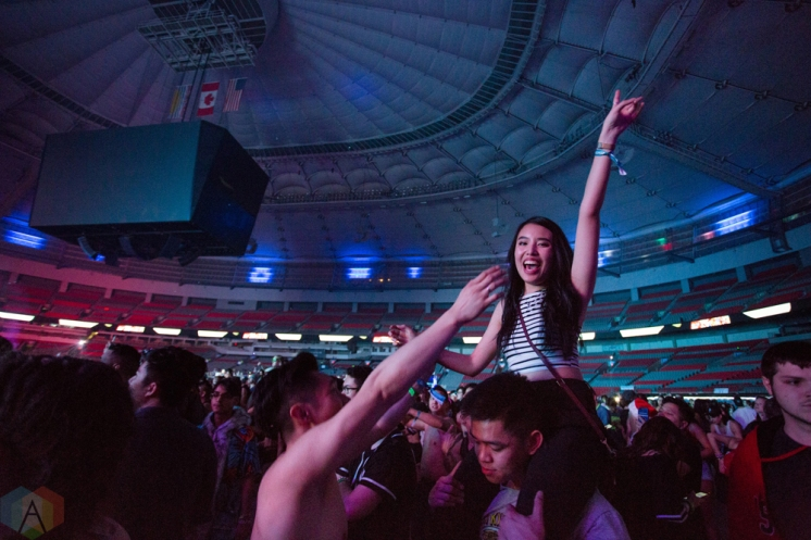 VANCOUVER, BC - Contact Winter Music Festival at BC Place in Vancouver on December 26, 2017. (Photo: Ryan Deasley/Aesthetic Magazine)