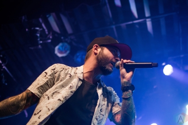 VANCOUVER, BC - DECEMBER 20: Dallas Smith performs at Commodore Ballroom in Vancouver on December 20, 2017. (Photo: Kristina Kimlickova/Aesthetic Magazine)