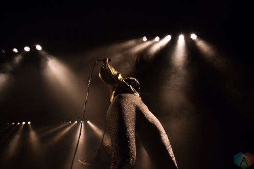 VANCOUVER, BC - DECEMBER 7: Dear Rouge performs at Commodore Ballroom in Vancouver on December 7, 2017. (Photo: Ryan Deasley/Aesthetic Magazine)