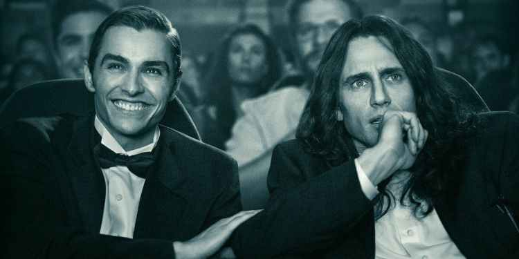 The Disaster Artist is nominated for two Golden Globes, including Best Motion Picture – Musical or Comedy, and Best Actor – Motion Picture Musical or Comedy.